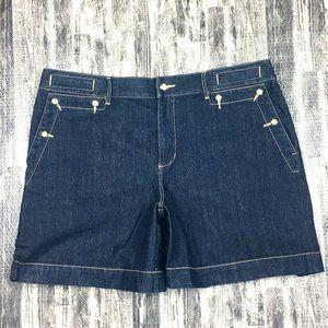 Lauren Jeans Co Ralph Lauren Denim Nautical Shorts